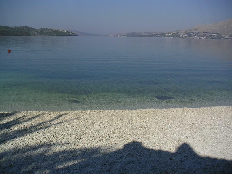 Strand Okrug Gornji Ciovo <> Beach Okrug Gornji Ciovo