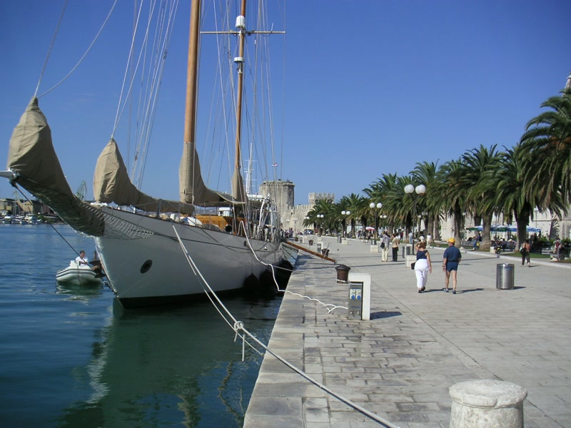 Marina von Trogir <> Trogir's marina
