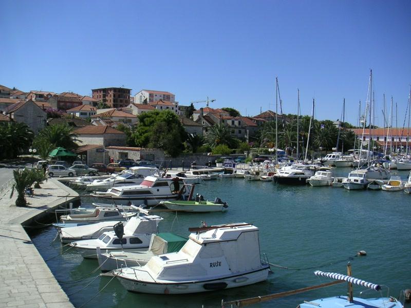 Die Marina von Trogir <> Trogir's Marina